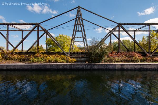 old swing bridge no longer in use