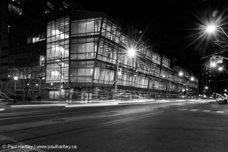 one of many Ryerson University buildings