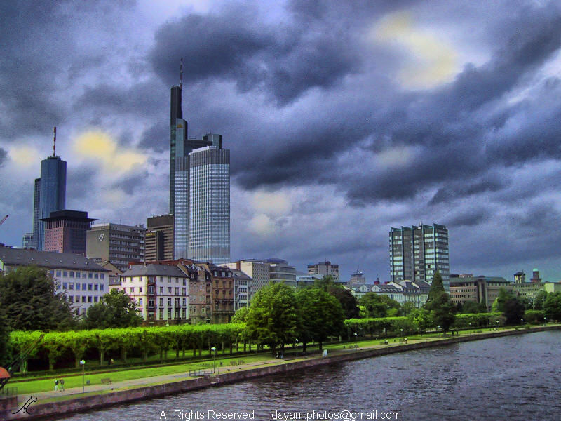HDR like image of Frankfurt