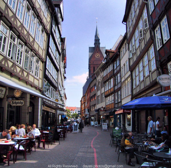 Downtown,Hannover,Germany