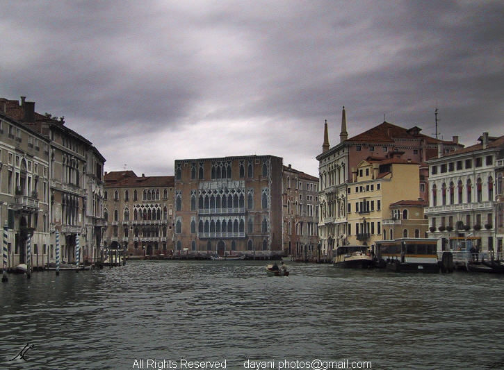 A grey day in Venice