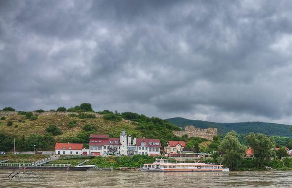 Hainburg an der Donau, Austria, River,