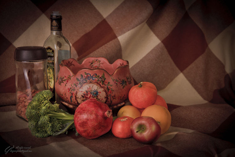 Still, life, fruit, Mohsen Dayani, محسن, دیانی