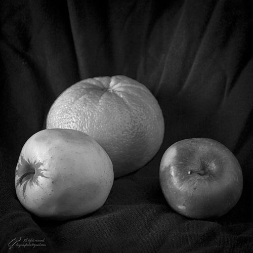 Still, Life, Photography, Fruit, apple, Orange,
