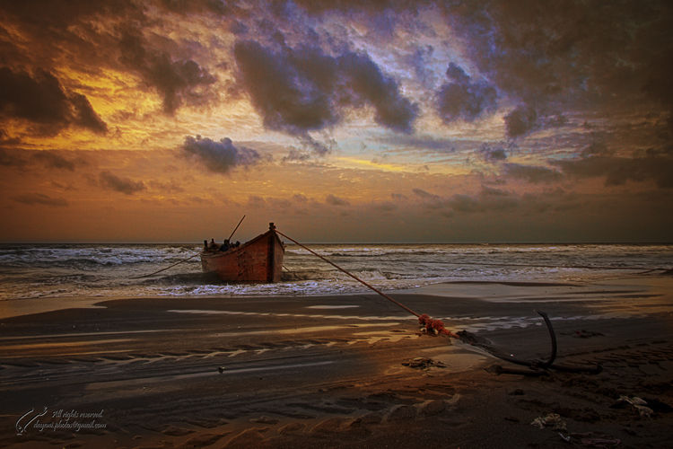 Fishing, Sunset, Sea, Mohsen, Dayani, محسن, دیانی