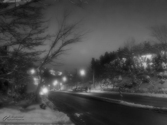 Snow, Darabad, Tehran, Mohsen, Dayani, محسن, دیانی