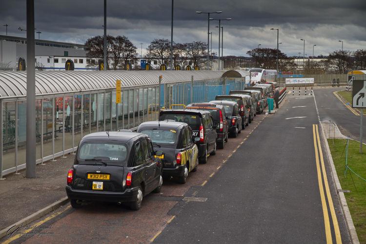 scotland black cab taxi airport mohsen dayani محسن