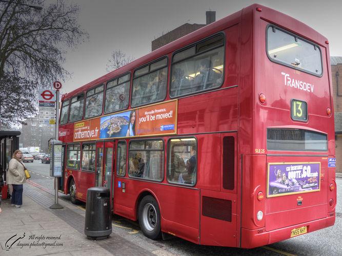Uk, London, bus, Mohsen, Dayani, محسن, دیانی