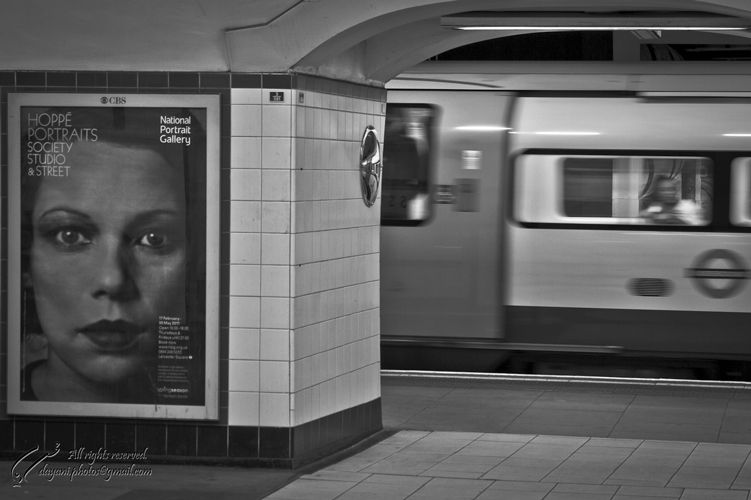 Underground, London, Mohsen, Dayani, محسن, دیانی