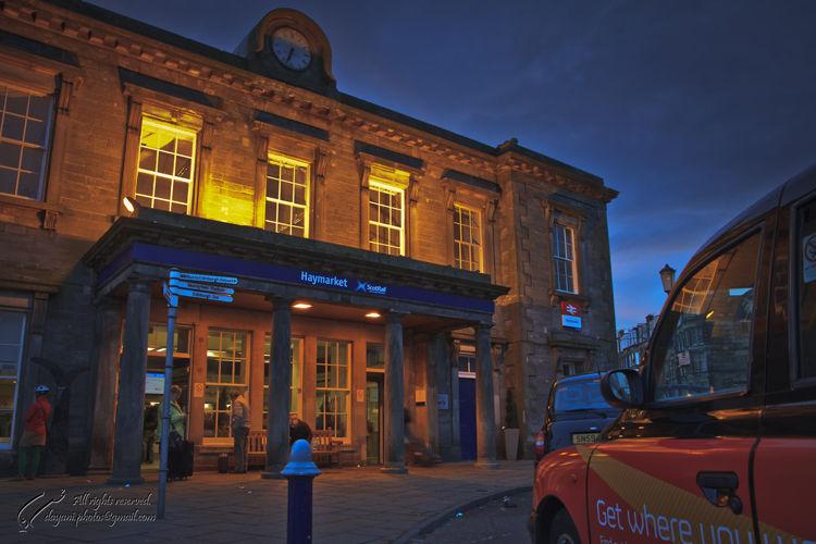 UK, Midlothian, Edinburgh, Station, Mohsen, Dayani