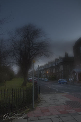 UK,  Scotland,  Edinburgh,  Magdala Crescent.,