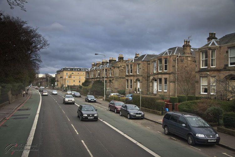 UK, Scotland, Edinburgh, Gogar. (Glasgow Rd.)