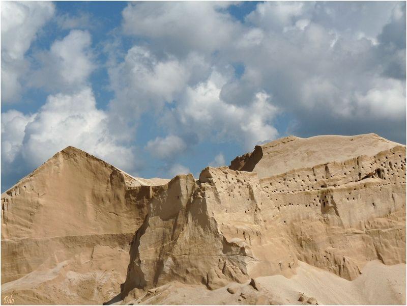 Falaises de sable