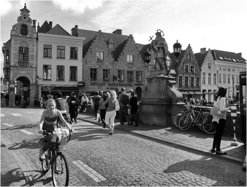 A Bruges, le vélo est roi