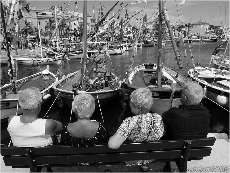 port Sanary bateaux banc NB