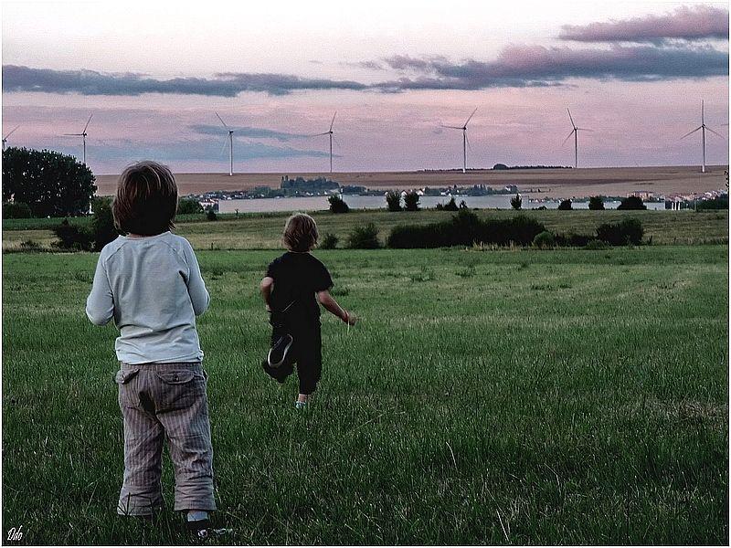 3 Les moulins d'Eole s'invitent dans nos paysages