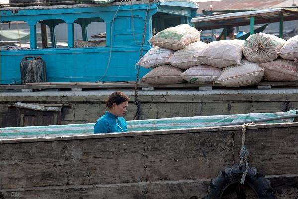 Marchande de riz