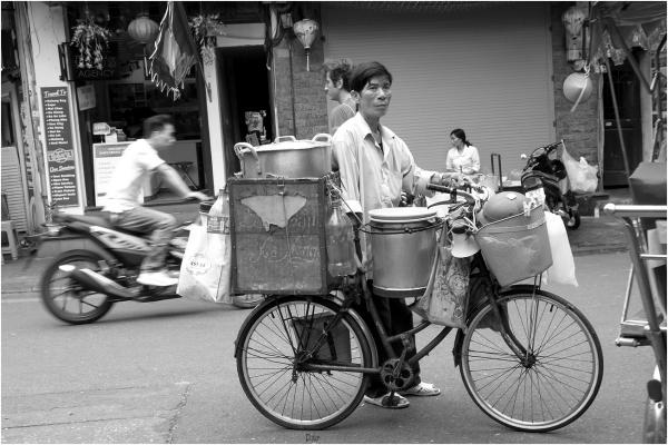 Vendeur de rue