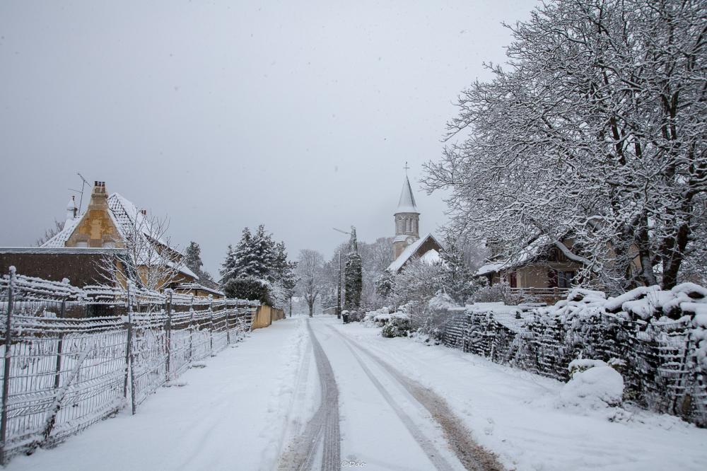 L'hiver est là