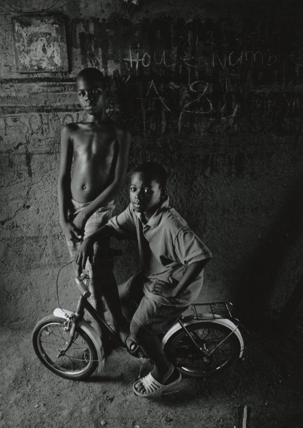Fuseni, Mallam and bike