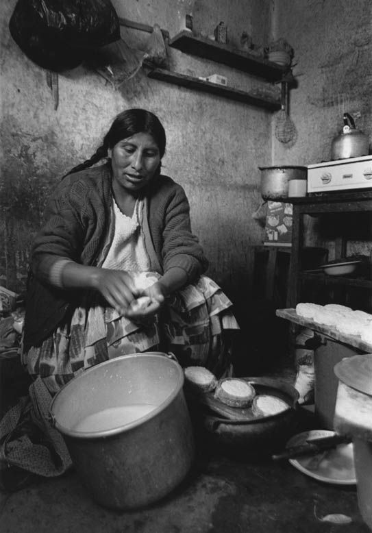 Macaria making cheese