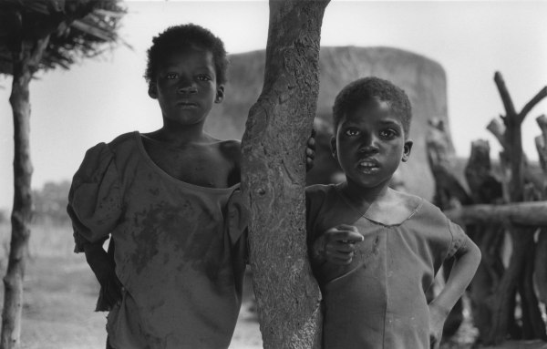Girls in shade