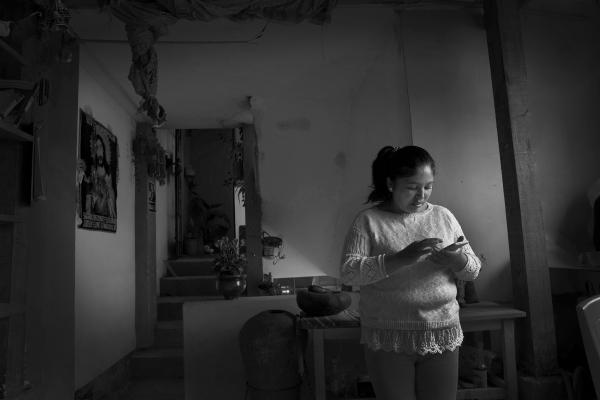 Olga In her Home
