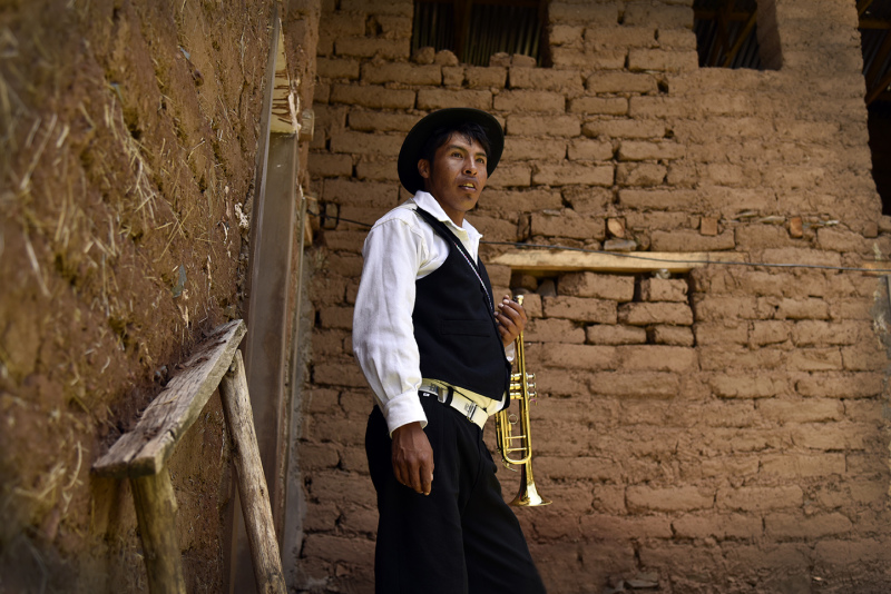 Musician from Amantani