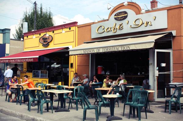Café, Little Italy