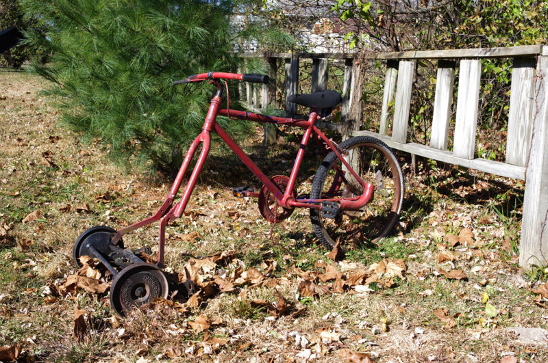 Bicycle Lawnmower