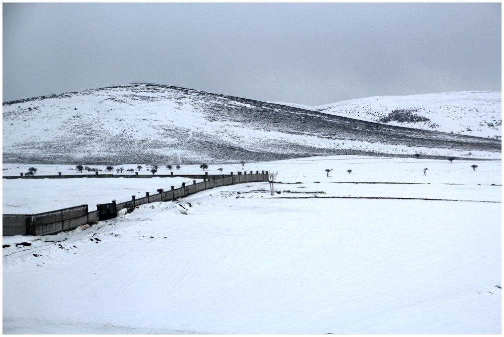 landscape winter snow mountain