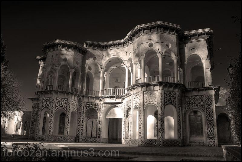 iran architecture,baghe shazdeh,keman