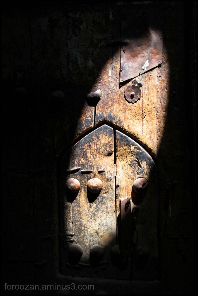 acient door
