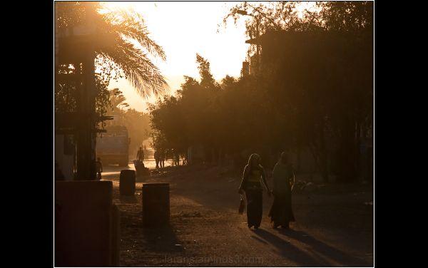 ...at sunset...el Quseir (I)