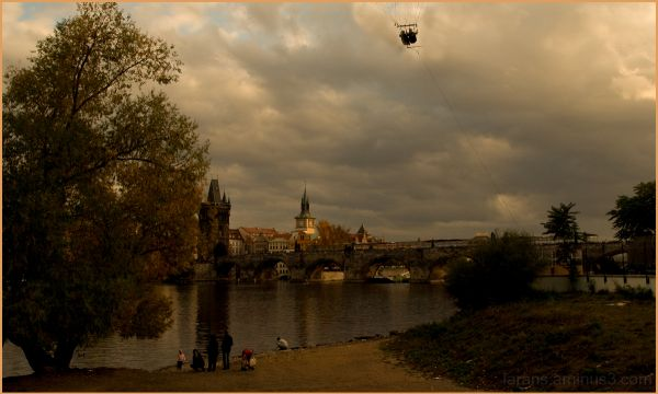 The Prague Fragments I - autumn light