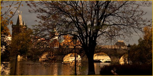 The Prague Fragments III - autumn light
