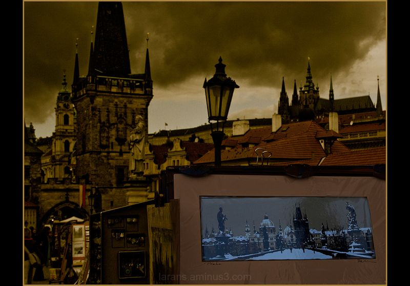 The Prague Fragments V - autumn light