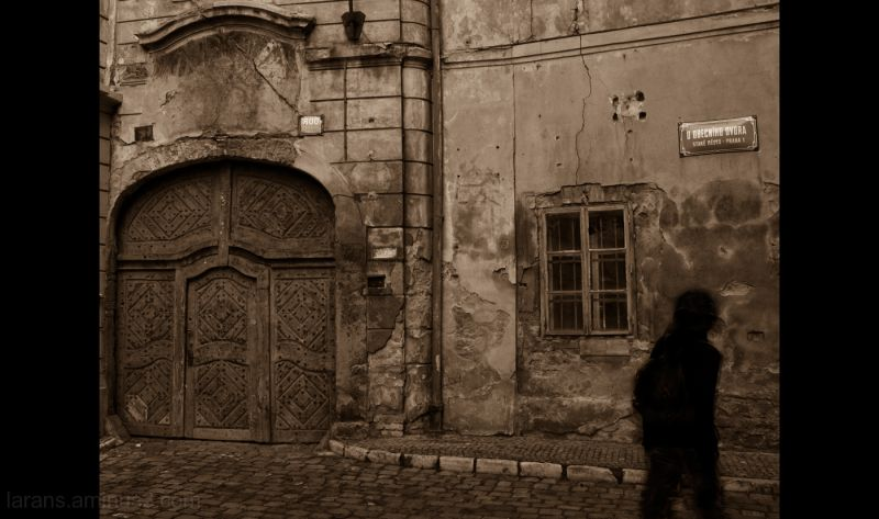 The Prague Fragments XV - ambiguous streets