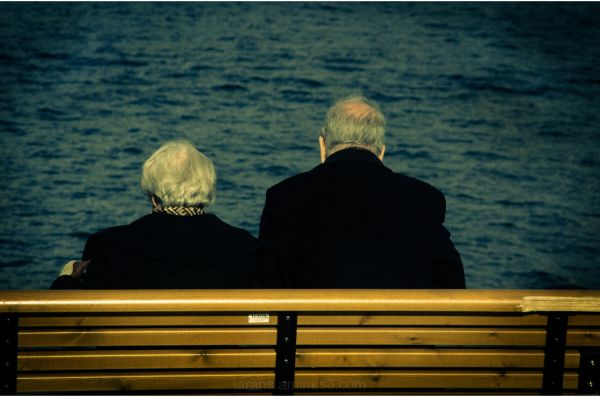 ...the old couple...