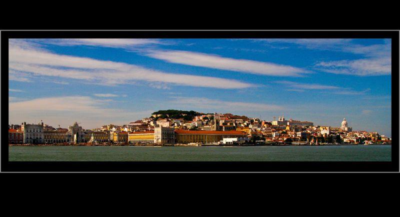 ...Lisbon skyline...