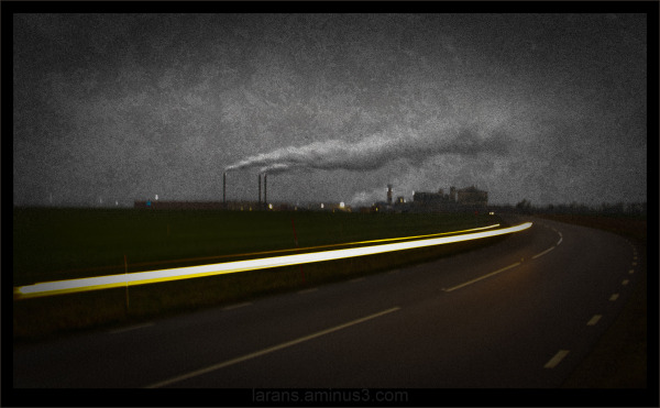 ...light trails..
