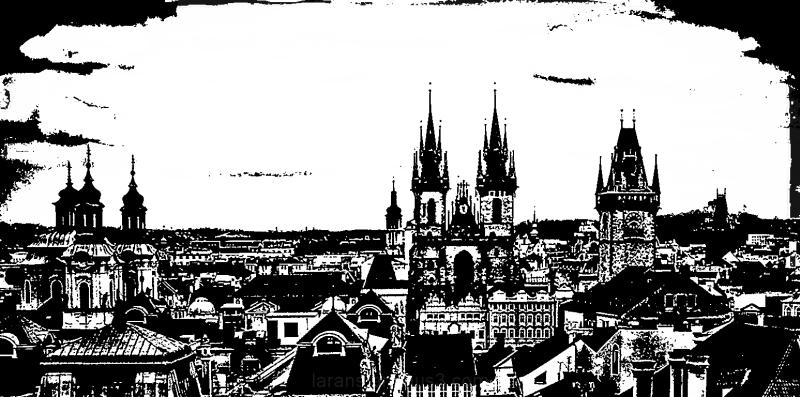 ...Prague Silhouette...