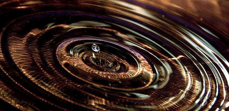 ...water droplet...