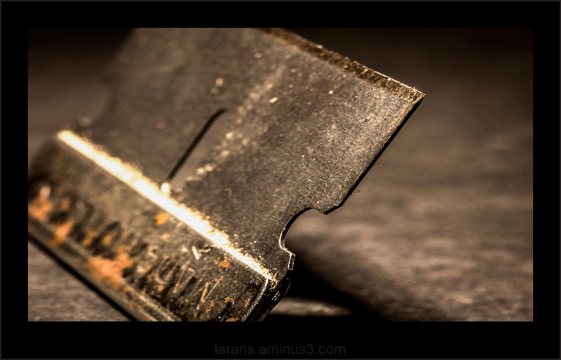 ...the sharp edge...