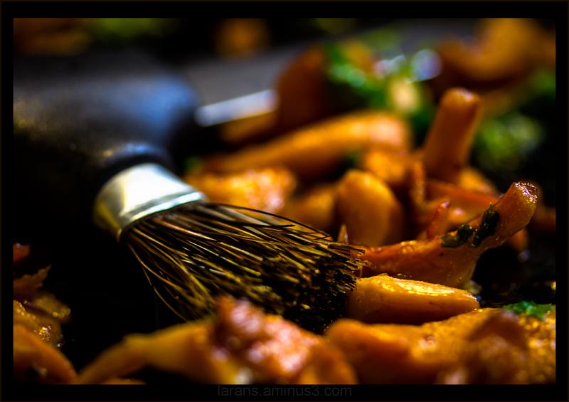 ...the mushroom knife...
