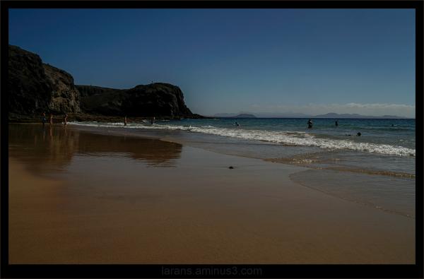 ...the beach...