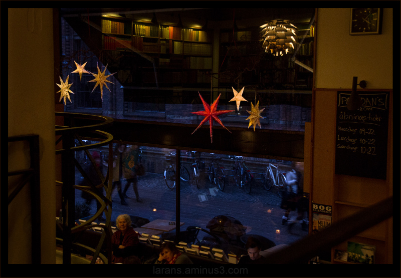 ...stjärnfullt fönster...