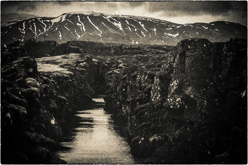 ...mountains of Iceland...