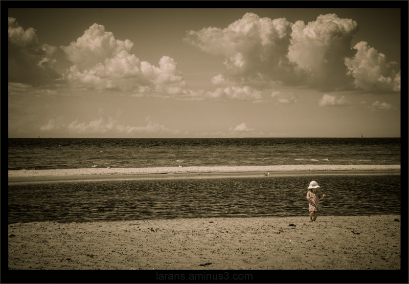 ...on the shore...