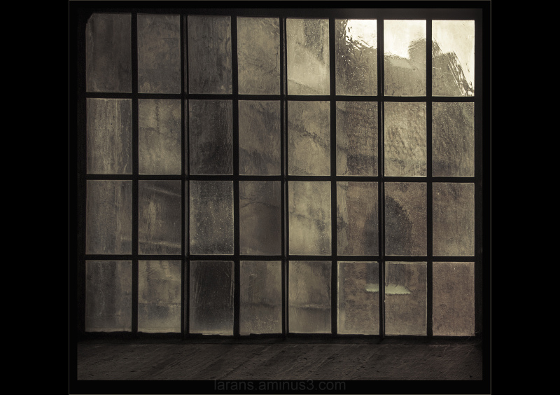 ...through the cathedrals window...